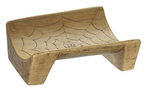 Image for Boat seat with spider web design from Ecuador