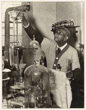 Image for George Washington Carver in Laboratory