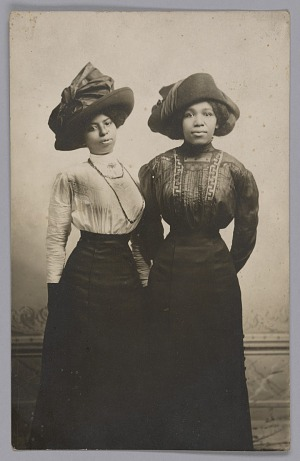 Image for Photographic postcard of Harriet Tubman's great nieces, Eva and Alida Stewart