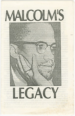 Image for Malcolm's Legacy