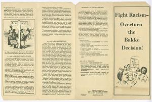 Image for Fight Racism - Overturn the Bakke Decision!