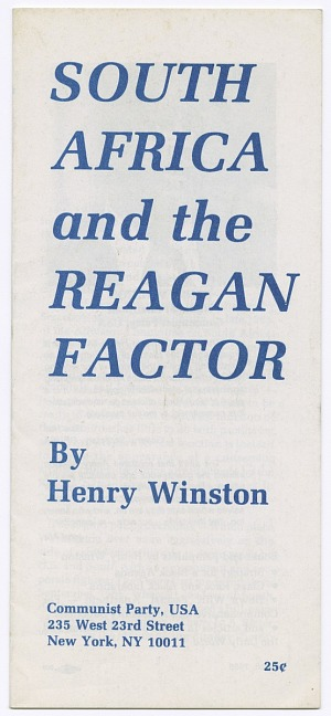 Image for South Africa and the Reagan Factor