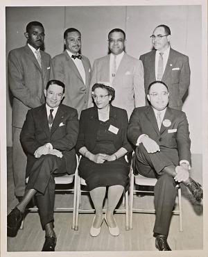 Image for Photograph of San Francisco Sun-Reporter Political Forum participants
