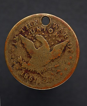 "Image for Identification tag for drummer ""George Washington,"" with American eagle"
