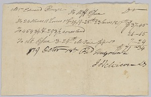 Image for Account of taxable property, including enslaved persons, owned by Edward Rouzee