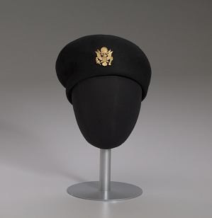 Image for Women's US Army Service beret worn by Brigadier General Hazel Johnson-Brown