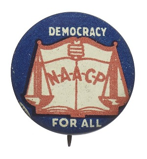 Image for Pinback button for the NAACP
