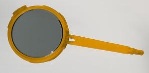Image for Bakelite hand mirror from dresser set owned by Lena Horne