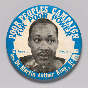 Image for Pinback button for the Poor People's Campaign