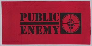 Image for Banner used at Public Enemy performances