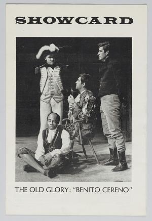 Image for Theatre program for The Old Glory: Benito Cereno
