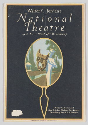 Image for Theatre program for Yellow