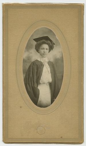 Image for Graduation portrait of Octavia C. Long