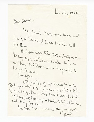 Image for Letter to Berdis Baldwin from James Baldwin