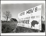 Image for Lowndes County, Alabama (Vote Nov. 8th sign)