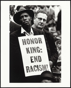Image for Martin Luther King, Jr. Funeral: Honor King End Racism