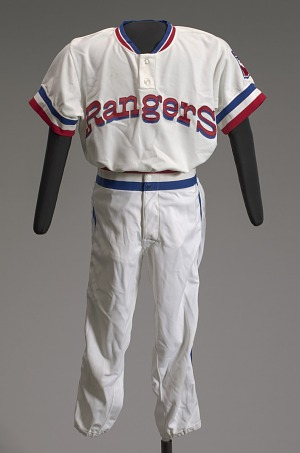 Image for Texas Rangers basball uniform short pants worn by Charley Pride