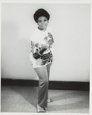 Image for Studio portrait of a woman