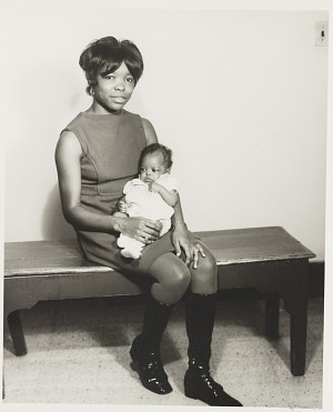 Image for Studio portrait of mother and infant