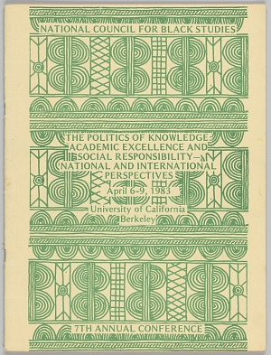 Image for The Politics of Knowledge: Academic Excellence and Social Responsibility - National and International Perspectives
