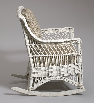 Fantastic Wicker Rocking Chair From Shearer Cottage Smithsonian Dailytribune Chair Design For Home Dailytribuneorg
