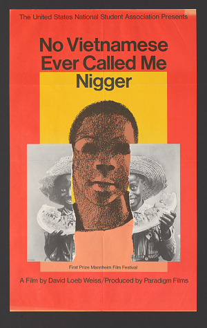 Image for Poster for No Vietnamese Ever Called Me Nigger