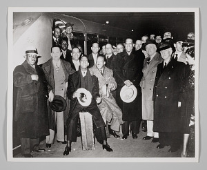 Image for Duke Ellington and his Band at the Saint-Lazare Station