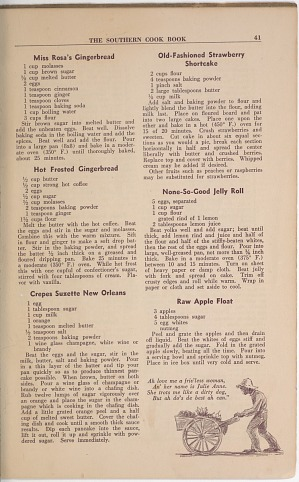 Southern Cook Book of Fine Old Dixie Recipes | Smithsonian