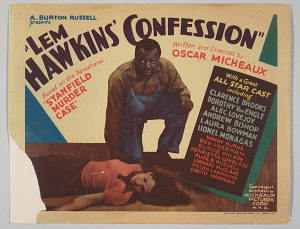 Image for Lobby card for Lem Hawkins' Confession