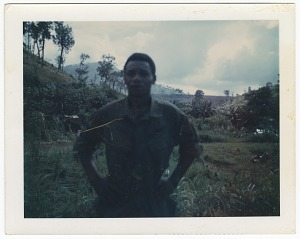 Image for Photograph of an American soldier in Vietnam