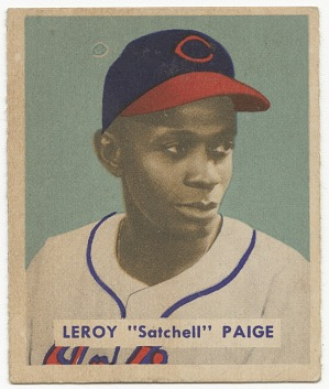 "Image for Baseball card for rookie Leroy ""Satchel"" Paige"