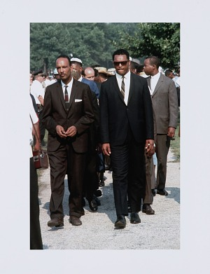Image for Digital print of Jesse Jackson and Albert Raby at Chicago Freedom Movement rally