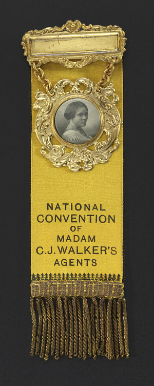 Image for Badge from the National Convention of Madam C. J. Walker's Agents