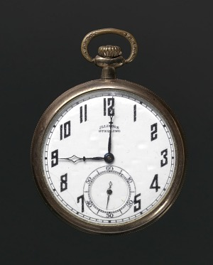 Image for Pocket watch owned by Harry T. Moore