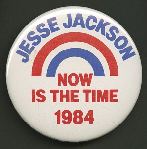 Image for Pinback button for Jesse Jackson's 1984 presidential campaign
