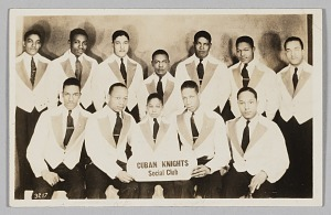 Image for Photographic postcard of the Cuban Knights Social Club
