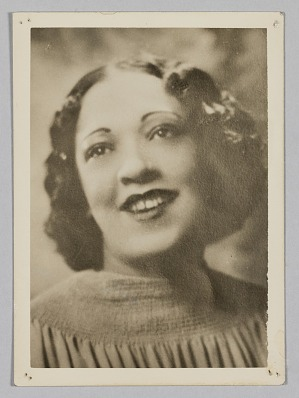Image for Photograph of Sybil Parker