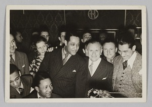 Image for Photograph of a cocktail party held by Irving Mills