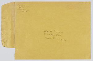 Image for Envelope addressed to Maxine Sullivan