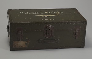 Image for Trunk used by Tuskegee Airman 2d Lt. James McCullin