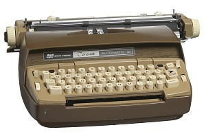 Image for Coronet Automatic 12 electric typewriter owned by Robert Churchwell