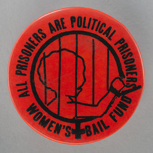 Image for Pinback button for the Women's Bail Fund