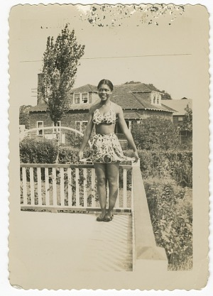 Image for Digital image of a Taylor family woman on Martha's Vineyard