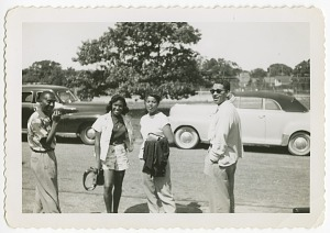 Image for Digital image of Taylor family members on Martha's Vineyard