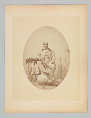 Image for Photograph of Aaron Molyneaux Hewlett, gymnasium coach of Harvard University