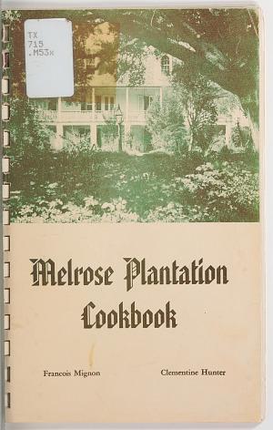 Image for Melrose Plantation Cookbook