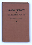 Image for Negro History in Thirteen Plays