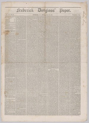 Image for Frederick Douglass' Paper