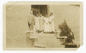 Image for Photograph of Principal H. H. Falkener and four Percy Street School teachers