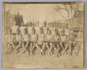 Image for Photograph of the 1929 Tuskegee Institute men's basketball team